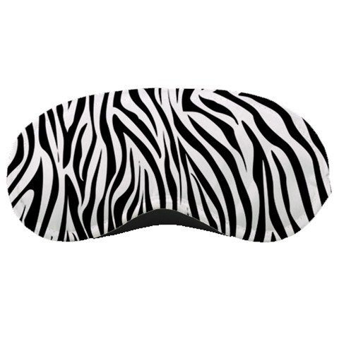 Black & Whie Zebra SLEEPING MASK Comfortable Polyester foam at BlueSkies 36554918