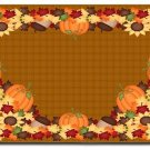 Thanksgiving Harvest Design Indoor Room Doormat Mats Rug for Kitchen