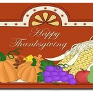 Thanksgiving Design Indoor Room Doormat Mats Rug for Kitchen or Bedroom