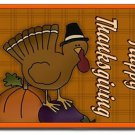 Thanksgiving Cartoon Turkey Design Indoor Room Doormat Mats Rug for Kitchen