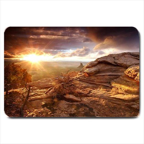 Canyons Landscape Design Indoor Doormat Mats Rug for the Bedroom or Bathroom