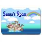 PERSONALIZED Noah's Ark Baby Nursery Room Mats Rug