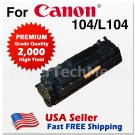 Toner Cartridge 104 for CANON ImageClass D480 MF4150 MF4270 MF4350d MF4370dn MF4690 Black