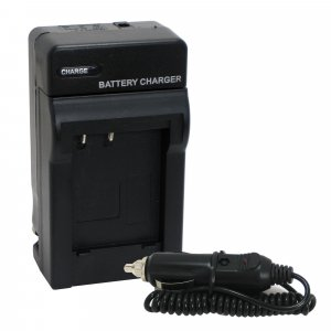Battery Charger Kit for Panasonic DMW-BCG10 BCG10PP BCG10E with Car Adapter, Replace DE-A65 A66