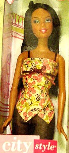 City Style Black Barbie Doll New in Box!!!
