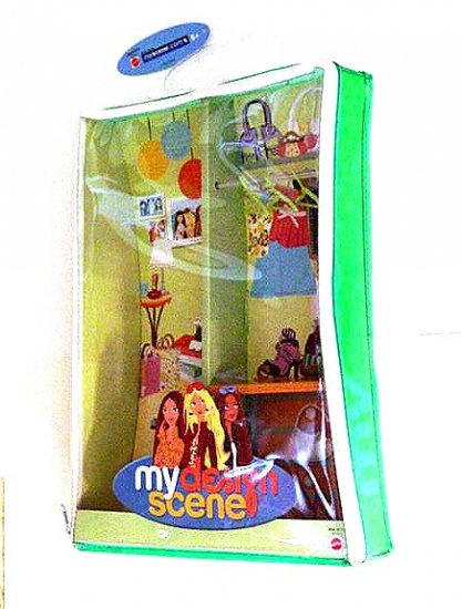 MY SCENE Barbie Doll Case NEW!!