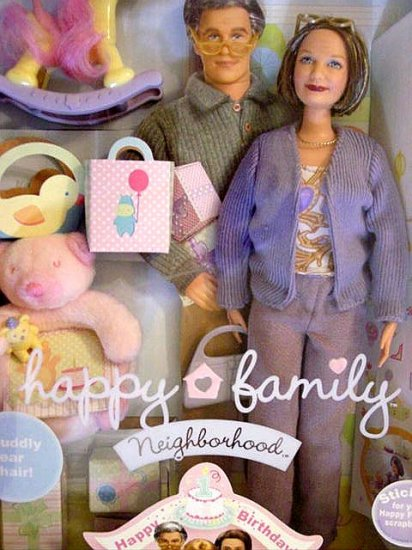Happy Family Grandma Barbie Doll New in Box!!!