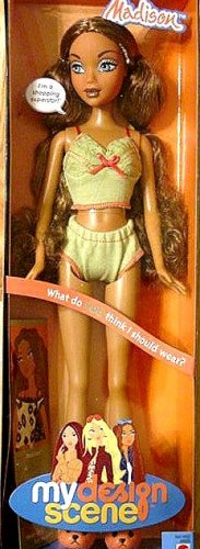 MY SCENE Madison Barbie Dolll New in Box!