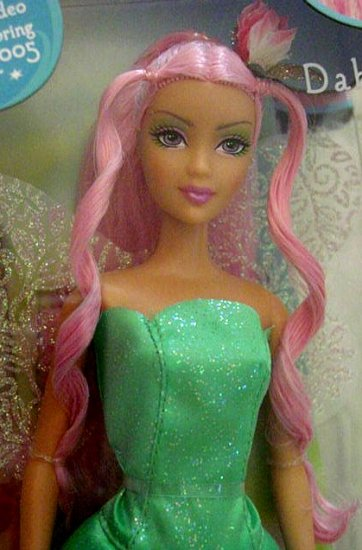 Fairytopia Dahlia Barbie Doll New in Box!!