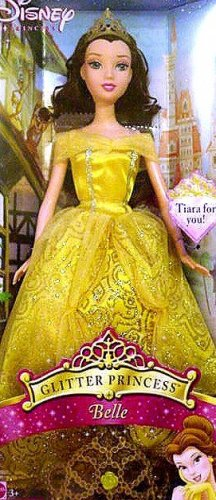 Barbie Glitter Princess Belle Mint in Box!!