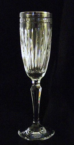 Hanover Platinum Flute Waterford Marquis Crystal