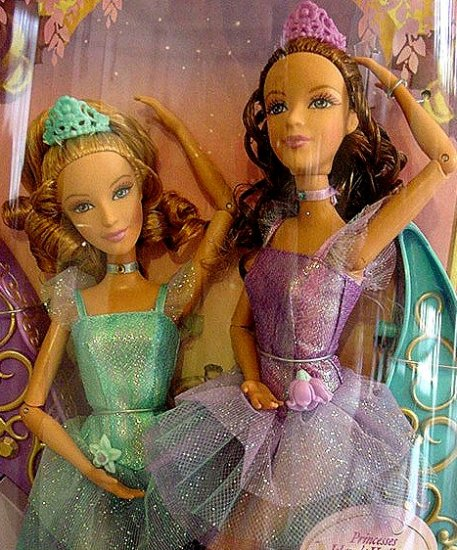 Princess Hadley and Isla Barbie Dolls NIB!!