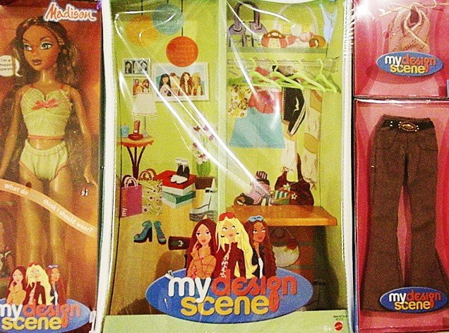 My Scene Madison Barbie Doll Tote & Outfit New!