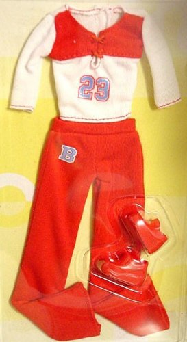 Barbie Doll Red Comfy Jersey Knit Outfit MIP