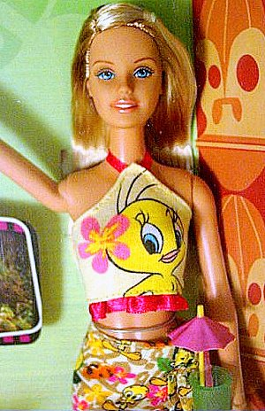 Barbie & Tweety Looney Tunes Collection MIB!!!