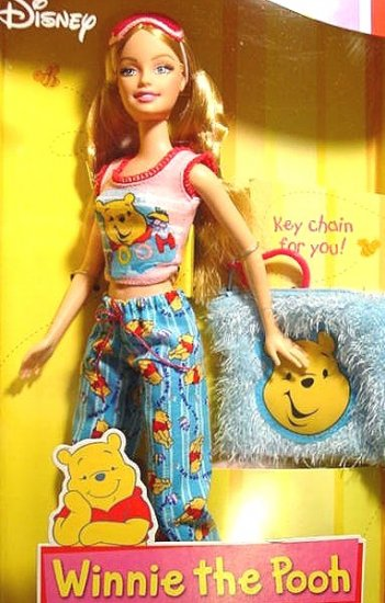 Barbie Loves Winnie the Pooh Doll New in Box!!