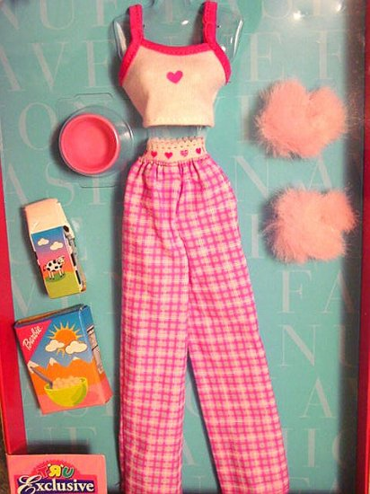 Barbie Clothes Fashion Ave TRU Jammies NIP!!