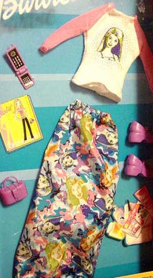 Barbie Doll Clothes Cute Blouse & Skirt & Shoes MiP!!
