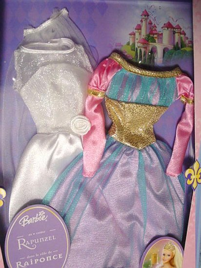Barbie Fantasy Tales Collection 2 Gowns New in Package!!