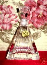Crystal Vanity Perfume Bottle Decanter New In Box!