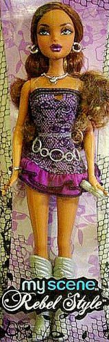 My Scene Rebel Style Madison Barbie Doll New In Box!!