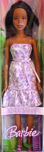 Nikki Barbie Doll City Style Black Barbie Doll New in Box!!