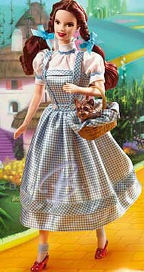 Dorothy Wizard of Oz Barbie Doll 2007 Collector Doll # K8682 New in Box!!