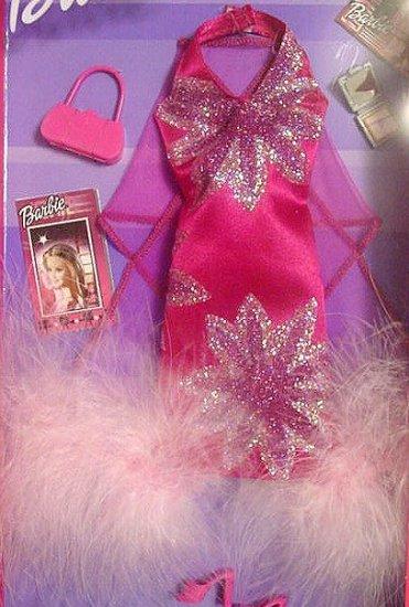 FASHION AVENUE Barbie Doll Clothes Fuschia Gown MIP