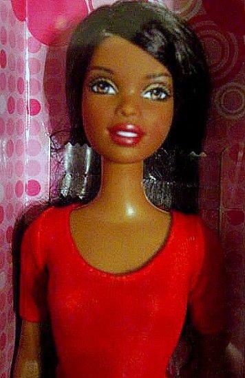 NIkki Black Barbie Doll Bargain! Glam