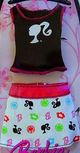 Barbie Fashion T-Top and Skirt New in Package!