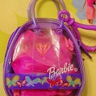 Barbie Keychain Clip New! Purple