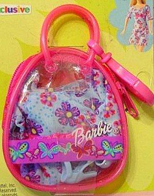 Barbie Keychain Clip New! Pink