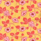 Stone Hill Collection -Tutti Frutti - Outlined Flowers On Yellow - Pattern #1328012 - 1 yard