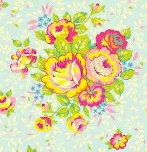 Free Spirit - Heather Baily's - Pop Garden - Pattern #HB01 - Rose Bouquet - 1 yard