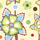 In The Beginning Fabrics'  Wendy Slotboom - Frolic - Pattern #: 1WSA2 - 1 yard