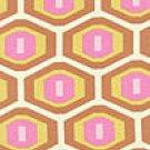Rowan Fabrics - Amy Butler - Midwest Modern - Rust - Pattern #: AB25 - 20 inches