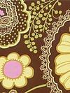 Rowan Fabrics - Amy Butler - Lotus -  Pattern #: AB19 - brown - 1 yard