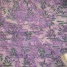 "Blue & Green Palm Designed Style Batiks Print - 31"" - Unknown Artist"