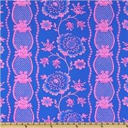 Free Spirit - Jennifer Paganelli - Flower Power Michal Royal/Fuchsia