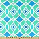 Free Spirit - Dena Designs - Monaco Interlocking Diamonds Blue