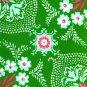 Free Spirit - Jennifer Paganelli - Pretty Please Ann Flower Mural Green - 1 yard