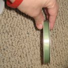 "YAMA - 3/8"" GROSGRAIN RIBBON - 25Y - NEW - SPRING MOSS"