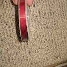 "YAMA - 3/8"" GROSGRAIN RIBBON - 25Y - NEW - WINE"