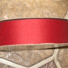 "1-1/2"" - Solid - Grosgrain Ribbon - Wine - 5 yards"