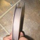 "5/8"" - Solid - Grosgrain Ribbon - Grey/Pewter - 5 yards"
