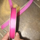 "5/8"" - Solid - Grosgrain Ribbon - Fuchsia - 5 yards"