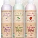 Simply Sensual Intimate Shave Cream - White Lavender 8oz