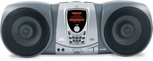 JVC SIRIUS Satellite Radio Portable Boombox