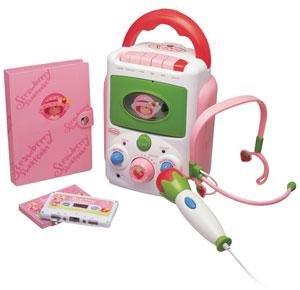 STRAWBERRY SHORTCAKE Sing-A-Long Cassette Karaoke Recorder / Player