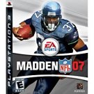 Madden NFL 07 PS3